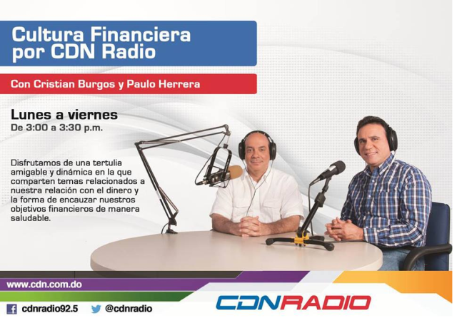 Cultura Financiera por CND Radio . Con Cristian Burgos y Paulo Herrera = SMARTCOACH
